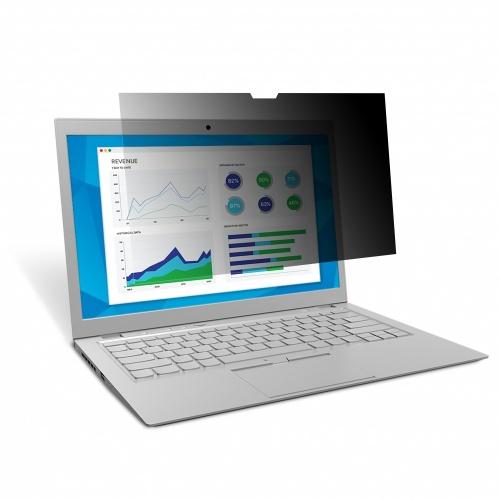 """3M Filtro de Privacidad para Laptop 14.1"""", Negro"""