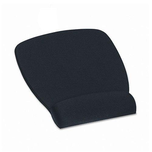 Mousepad 3M con Descansa Muñecas, 22x17cm, Negro