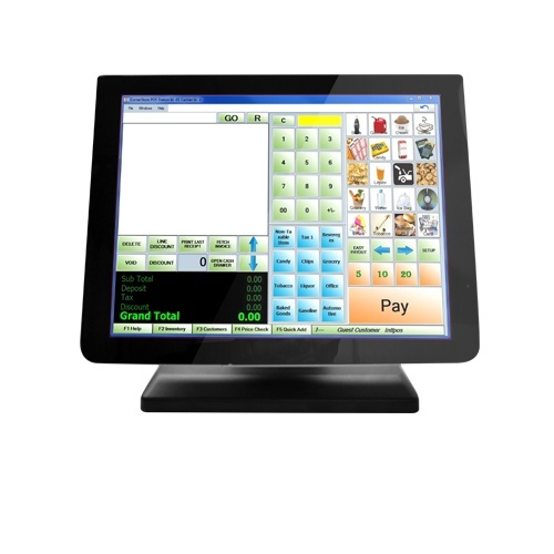 """3nStar TRM010 LED Touchscreen 15"""", Widescreen, Negro"""