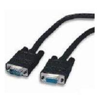 4XEM Cable VGA Macho - VGA Macho, 7.6 Metros, Negro