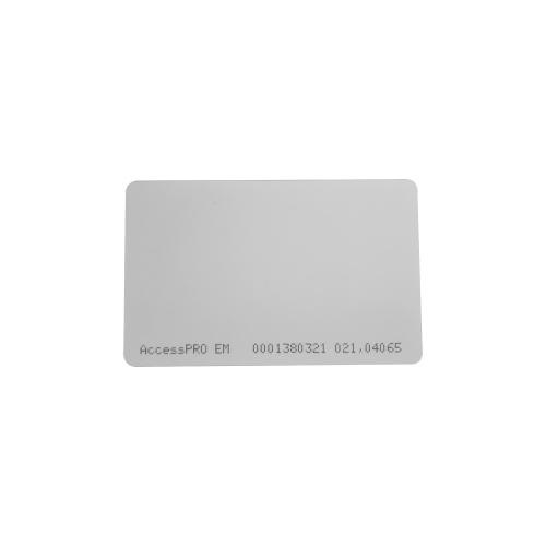 AccessPRO Tarjeta de Proximidad, 8.56 x 5.4cm, Blanco