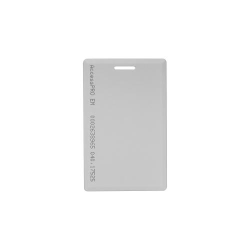 AccessPRO Tarjeta de Proximidad ACCESS-PROX-CARD, 5.4 x 8.5cm, Blanco