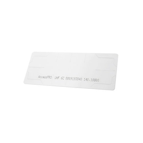 AccessPRO Tag Adherible RFID ACCESS-TAG, 11 x 4.5cm, Blanco