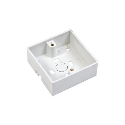 AccessPRO Caja de Montaje para Botón de Salida PRO802-BOX, Blanco