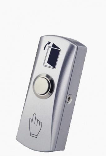 AccessPRO Botón de Salida PRO815B, Alámbrico, Plata