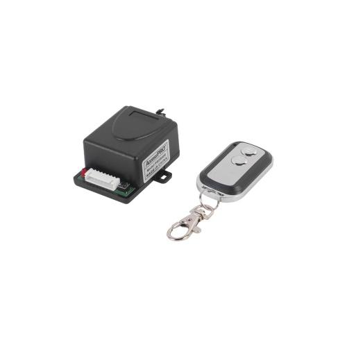 AccessPRO Receptor con 2 Relevadores y Control Remoto, RF Inalámbrico, hasta 50 Metros