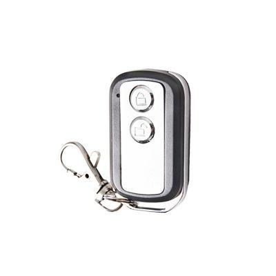 AccessPRO Control Remoto de 2 Botones, RF Inalámbrico, Plata, para PROR400