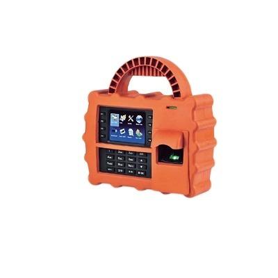 AccessPRO Control de Acceso y Asistencia Briométrico Portátil S922, 30.000 Tarjetas, Naranja