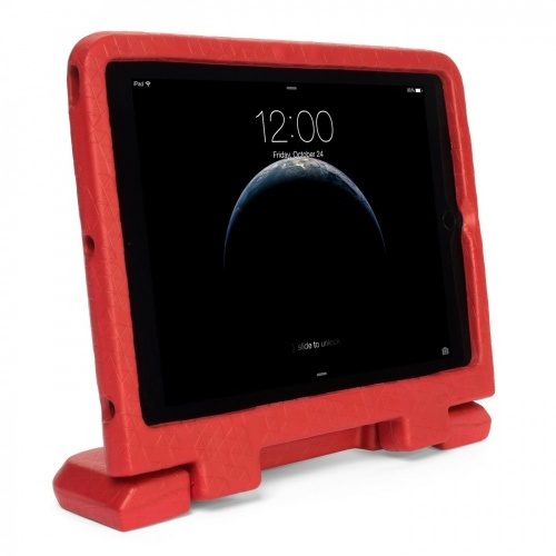 Kensington Funda Rígida de Caucho para iPad Air 2, 9.7'', Rojo