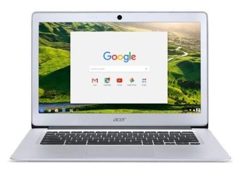 Laptop Acer Chromebook CB3-532-C7JT 15.6'', Intel Celeron N3060 1.60GHz, 4GB, 62GB, Chrome OS, Gris