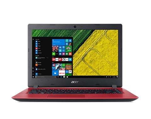 Laptop Acer Aspire A315-51-33MD 15.6'', Intel Core i3-7020U 2.30GHz, 4GB, 500GB, Windows 10 Home 64-bit, Rojo
