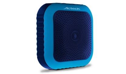 Acteck Bocina Portátil SB-200, Bluetooth, Inalámbrico, USB 2.0, Azul
