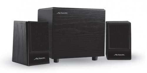Acteck Bocina con Subwoofer AXF-290, Bluetooth, Inalámbrico, 2.1, 18W RMS, 180W PMPO, USB, Negro