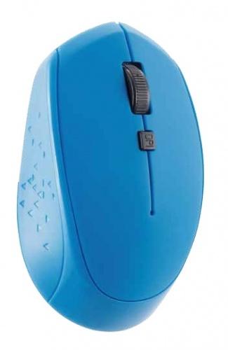 Mouse Acteck Óptico AC-916486, RF Inalámbrico, 1600DPI, Azul