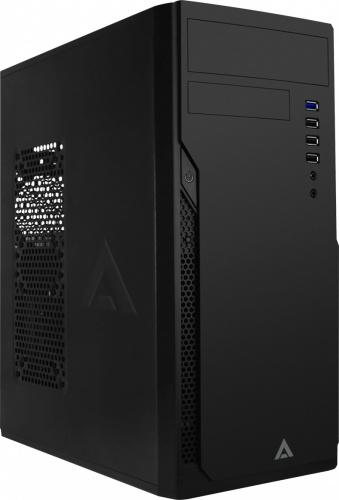 Gabinete Acteck ARSEN GI005, Midi-Tower, ATX/Micro-ATX/Mini-ITX, USB 2.0/3.1, con Fuente de 500W, Negro