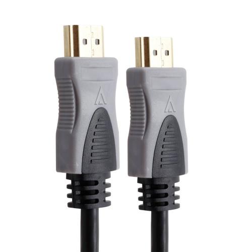 Acteck Cable AC-929325 HDMI Macho - HDMI Macho, 1.8 Metros, Negro/Gris