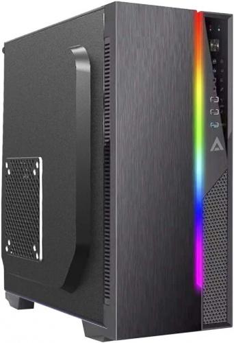 Gabinete Acteck Ultron X RGB, Micro Tower, micro ATX/Mini-ITX, USB 3.2, incluye Fuente de 500W, Negro