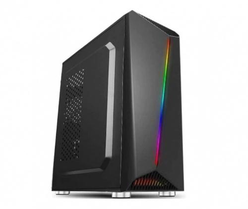Gabinete Acteck Hercius X700, Midi-Tower, ATX/Micro ATX/Mini-ITX, USB 3.0, incluye Fuente de 500W, Negro