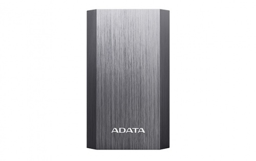Cargador Portátil Adata Power Bank AA10050, 10.050mAh, Titanio