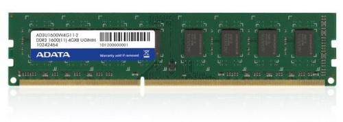 Memoria RAM Adata DDR3 Serie Premier, 1600MHz, 4GB, CL11