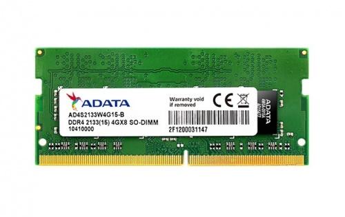 Memoria RAM Adata DDR4, 2133MHz, 4GB, CL15, SO-DIMM