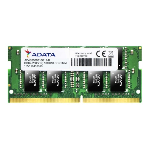 Memoria RAM Adata DDR4, 2666MHz, 8GB, Non-ECC, CL19, SO-DIMM
