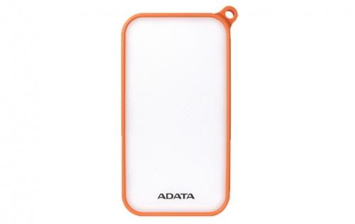 Cargador Portátil Adata PowerBank D8000L, 8000mAh, Naranja/Blanco