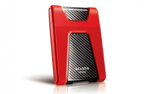 Disco Duro Externo Adata DashDrive Durable HD650 2.5'', 1TB, USB 3.0, SATA, Rojo - para Mac/PC
