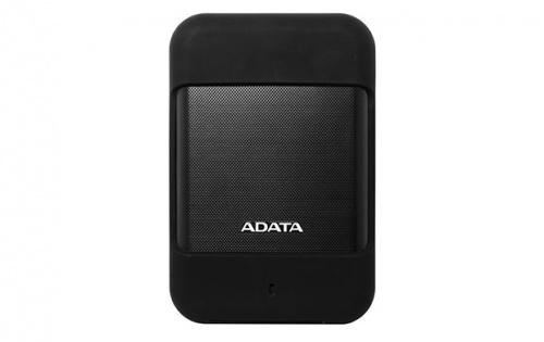 Disco Duro Externo Adata HD700, 2TB, USB 3.0, Negro, A Prueba de Agua, Polvo y Golpes - para Mac/PC