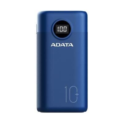 Cargador Portátil Adata P10000QCD, 10.000mAh, Azul