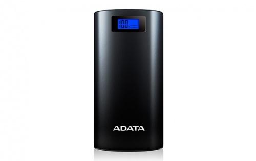 Cargador Portátil Adata Power Bank P20000D, 20000mAh, Negro