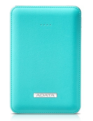 Cargador Portátil Adata PowerBank PV120, 5100mAh, Azul