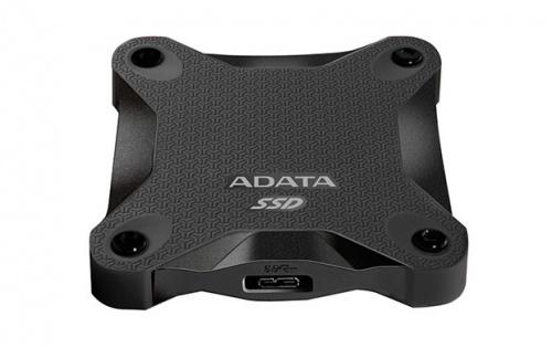 SSD Adata SD600, 512GB, USB C, Negro, A Prueba de Golpes
