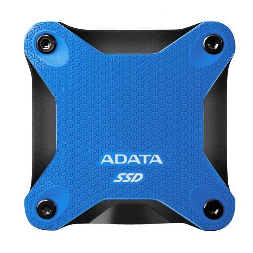 SSD Externo Adata SD600Q, 240GB, USB, Azul, A Prueba de Golpes