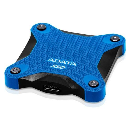 Disco Duro Estado solido 480 Gb Ssd Externo Adata Sd600 Azul