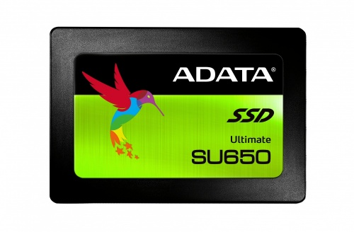 SSD Adata Ultimate SU650, 480GB, SATA III, 2.5'', 7mm