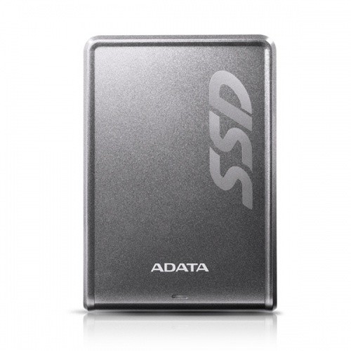 SSD Externo Adata SV620H, 256GB, 2.5'', 11.5mm, Titanio