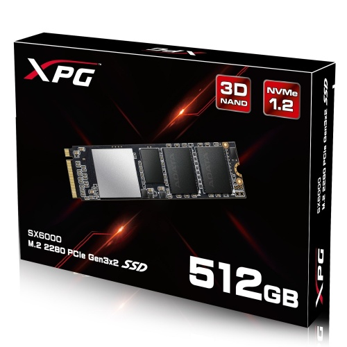 SSD Adata SX6000, 512GB, PCI Express 3.0, M.2