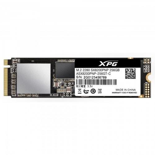 SSD Adata XPG SX8200 Pro, 256GB, PCI Express, M.2