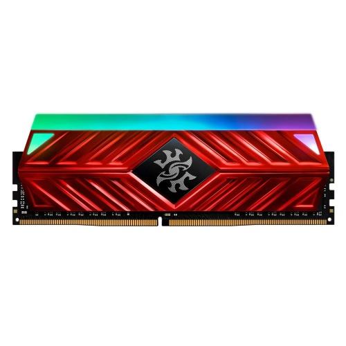Memoria RAM Adata XPG SPECTRIX D41 RGB DDR4 Red, 3200MHz, 8GB, Non-ECC, CL16, XMP