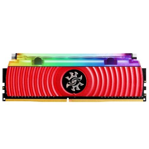Memoria RAM Adata SPECTRIX D80 DDR4, 3200MHz, 8GB, CL16, XMP, Rojo