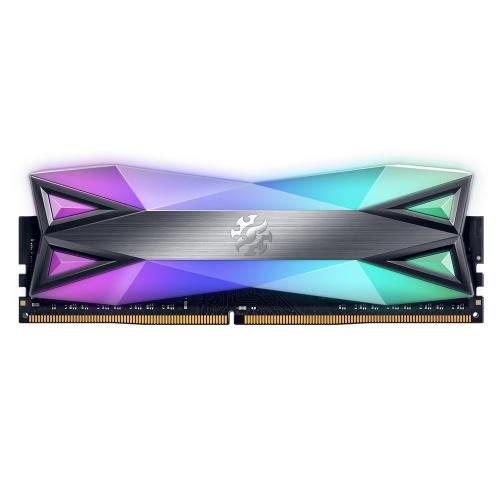 Memoria RAM XPG Spectrix D60G RGB DDR4, 3600MHz, 8GB, Non-ECC, CL18-20, XMP