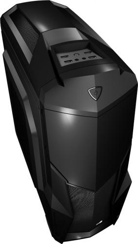 Gabinete Aerocool Cruisestar Advance con Ventana LED Rojo, Midi-Tower, ATX/Micro-ATX/Mini-ITX, USB 2.0/3.0, sin Fuente, Negro