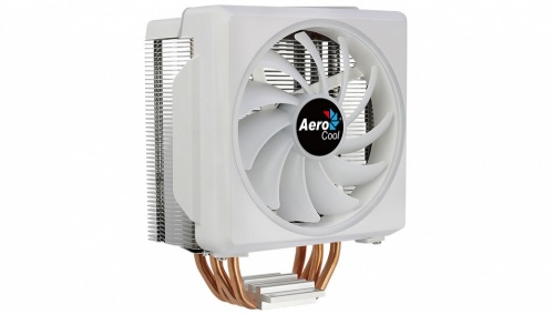 Disipador CPU Aerocool Cylon 4F RGB, 120mm, 800 - 1800RPM, Blanco