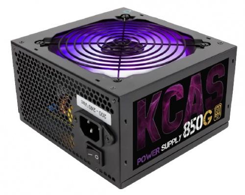 Fuente de Poder Aerocool KCAS-850G, 80 PLUS Gold, 20+4 pin ATX, 120mm, 850W