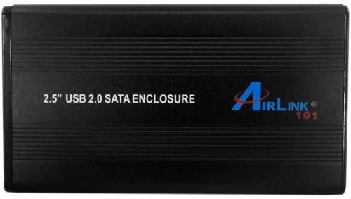 AirLink Gabinete de Disco Duro AEN-U25Sav2, 2.5'', SATA, USB, Negro