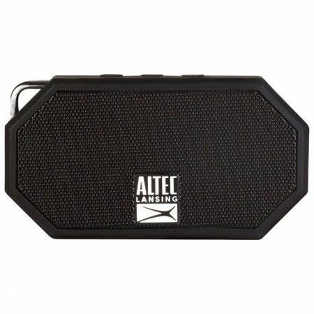 Altec Lansing Bocina Portátil Mini H20 3, Bluetooth, Inalámbrico, Negro - Resistente al Agua