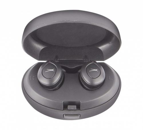 Altec Lansing Audífonos Intrauriculares MZX658, Inalámbrico, Bluetooth, Negro