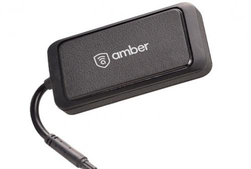 Amber Navegador GPS AMB3653G, Negro