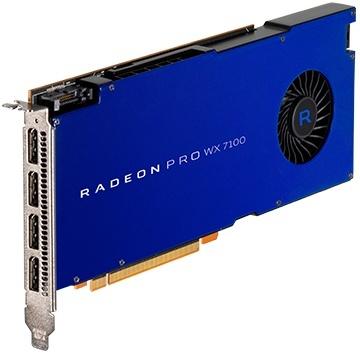 Tarjetas de Video AMD Radeon Pro WX 7100, 8GB 256-bit GDDR5, PCI Express 3.0 x16
